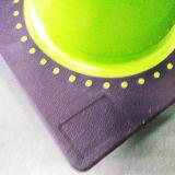 """18 de """" cone da segurança de tráfego do PVC do verde cal com o um 6 """" reflexivos padrão de América"""