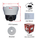 4 Zoll Innen-Kamera der CCTV-Sicherheits-Geschwindigkeits-Abdeckung-PTZ