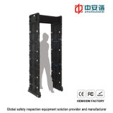 Metal detector di Buildings Security Check Portable Door Frame di governo con 24 zone