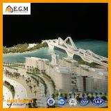 Модель здания модели/проекта гавани Zaid/модель здания/модели селитебного здания/модель общественного здания/весь вид знаков