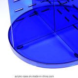 Cas d'exposition de renivellement de Blueacrylic de qualité