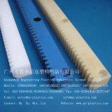 Estante y piñón de nylon plásticos de engranaje del PA PA66 del engranaje de estante de la ingeniería