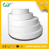 새로운 6W 둥근 최고 호리호리한 떠오른 거치된 LED Panellight (세륨; TUV)