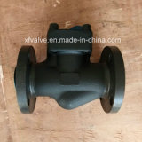 Valvola di ritenuta d'acciaio forgiata standard dell'elevatore dell'estremità del collegamento della flangia di BACCANO