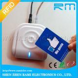 13.56MHz ISO14443A RFID Leser mit TCP/IP für Hotel überprüfen innen