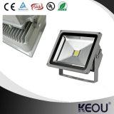 ¡Venta caliente! 50W proyectores de aluminio del lumen LED de la cubierta 5000