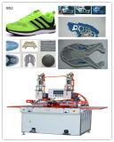 Máquina de soldadura de alta freqüência do PLC para a soldadura da parte superior de sapata do esporte, Welderg superior com o Ce aprovado