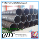LSAW Big Diameter 2mm Round Mild Steel Pipe