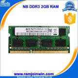 RAM компьтер-книжки упаковки 128X8 16c DDR3 2GB 1333MHz волдыря