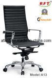 사무실 중국 최고 뒤 인간 환경 공학 크롬 철 가죽 매니저 의자 (A2006)
