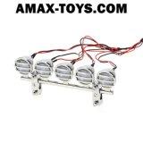 911020-5 schijnwerper Electroplate LED RC Roof Light Bar Set voor RC Crawlers