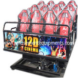 최신 Sale 7D Cinema 6 Luxury Seats Playground Entertainment Equipment