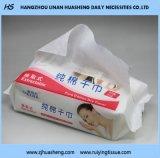綿の乾燥したワイプFe012