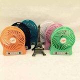 Fördernder MiniPortable USB-Ventilator mit Firmenzeichen Customered