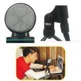 microfoon van de Condensator van de Karaoke van het Praatje van de Stop Retro QQ Yy van 3.5mm de Stereo