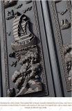 Puerta del chalet del metal de la seguridad Lh-008