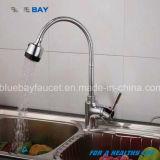 Scegliere moderno del rubinetto del colpetto di miscelatore della cucina del dispersore del foro della maniglia nuovo