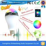 LED Light Bluetooth Speaker 10W LED Bulb APP Controlsound Speaker를 가진 창조적인 Bluetooth Great Sound Speaker
