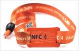 Wristband promozionale del nylon di RFID