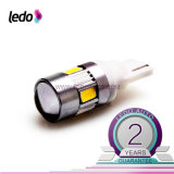 T10 194 285 6*5730SMD with/No Len Canbus LED InteriorかLicense Plate Car Light Bulb