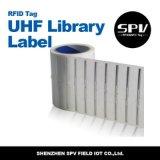 Estrangeiro passivo H3 do papel de etiqueta da biblioteca da freqüência ultraelevada de RFID ISO18000-6c