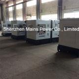 generador diesel BRITÁNICO de la potencia espera de 250kVA 200kw insonoro