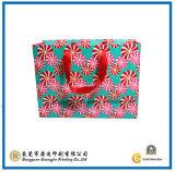 De kleurrijke Verpakkende het Winkelen Zak van het Document van de Gift (gJ-Bag410)