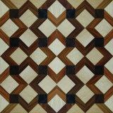 Érable, teck, art de noix épissant le plancher de parquet multicouche