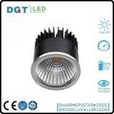 Projecteur en aluminium de lampe d'endroit du matériau 110-220V GU10 DEL de RoHS de la CE