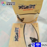 Fastfood- Beutel mit Reißverschluss für Nahrung- für HaustiereKunststoffgehäuse-Beutel