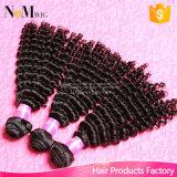 高級品の人間の毛髪の破烈は10Aブラジルのバージンの毛の弾力がある巻き毛のRemyの毛を販売する