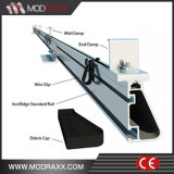 Supports solaires photovoltaïques de bon appui vertical en acier des prix (MD0038)