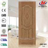 Кожа двери Fsc Veneer Sapeli декоративная ровная