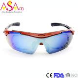 La tempe échangeable de mode folâtre les lunettes de soleil Tr90 avec les bâtis optiques Xiamen d'intérieur
