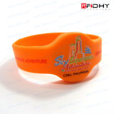 Amusement Parksのための低価格再Useable High Security RFID Wristband Tag