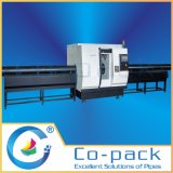 Corte frío del tubo de alta velocidad del NC y máquina que bisela