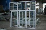 Polvo de la economía que cubre la ventana de aluminio de cristal doble del marco (BHA-CW026)