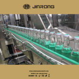 Máquina que capsula de relleno del fregado de las botellas de cristal del jugo