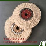 Roda 100% lustrando de pano de algodão da roda do algodão da via aérea para refrigerar