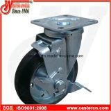 Rubber japonais économique Caster avec Elastic Rubber Wheel