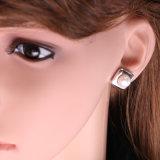 정연한 민물 AAA 단추 형식 공상 진주 귀걸이