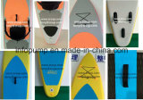 Il Sup si leva in piedi in su le schede praticanti il surfing della pala della scheda, il formato personalizzato & il colore