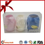 Bello uovo artificiale stampato del nastro del nastro solido di lucentezza di Golden+Silver per l'imballaggio del regalo