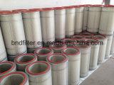 Cartucho plisado del filtro de aire (papel del poliester/de la celulosa)