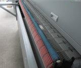 Scherpe Machine van de Laser van de Hoofden van het leer en van het Kledingstuk de Dubbele met AutoVoeder 180*1000mm