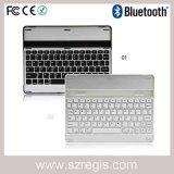 Universal de aluminio mini Bluetooth teclado de la PC para el iPad