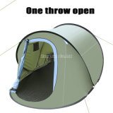 マルチ人の余暇の船のテント、安の4人のテント