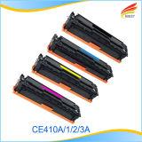 Cartucho de toner compatible del HP para 305A Ce410A, Ce411A, Ce412A, Ce413A