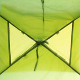 余暇のキャンプテントは、フード付き二重人ロープに自動テントを取る