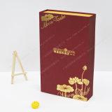 Принята бумажная коробка в случай луны, подгонянные спецификации, цветастое печатание и самые горячие конструкции